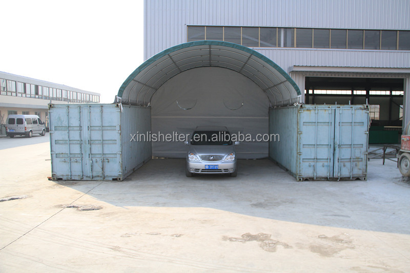 Accept customized dome shelter shipping container roof