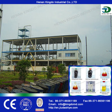 used cooking oil biodiesel plant small biodiesel machine from China direct manufacturer