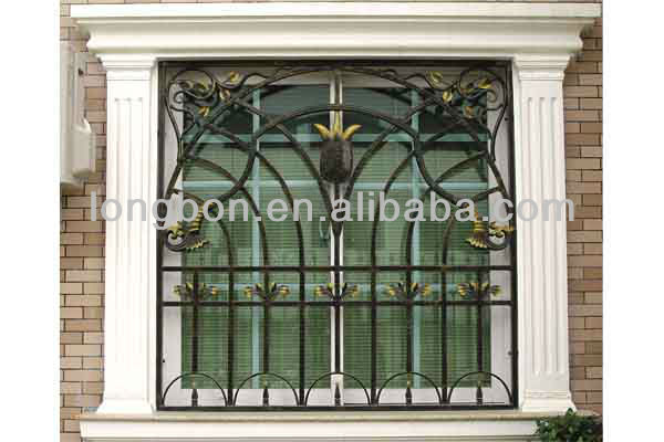 Top-selling classic galvanized iron window installation