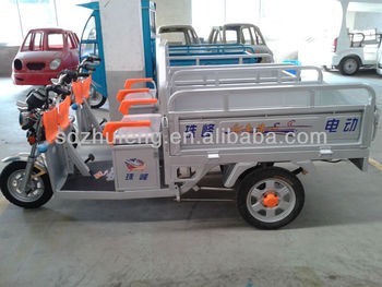 bigger electric tricycle with 4.00-12 tire