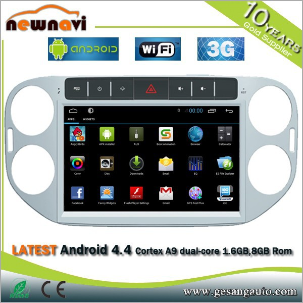 car maklier 2 din New style 100% pure Android 4.4.4 system CAR DVD/cassette player