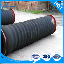 high quality large diameter corrugated water pump suction hose drainage pipe