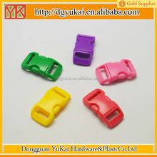 Yukai plastic safety breakaway buckle/550 paracord bracelet plastic buckle