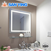 Bathroom lighted mirror with led