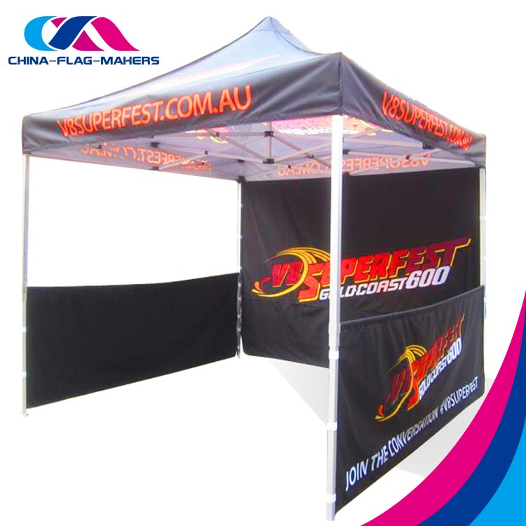 cater display fold 4x8 tent with waterproof cover