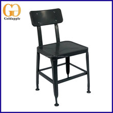 Popular Design Iron Grey Bistro Chair Cafe Chair Bar Chair