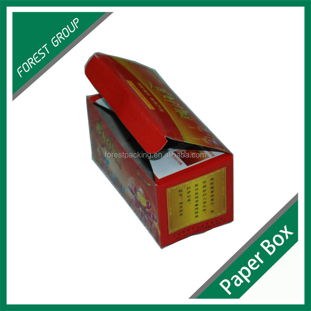 Cardboard cylinder packaging box