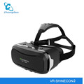 2017 New Technology google 3d glasses box Vr 2.0 Shinecon for smart phone pc games movie video