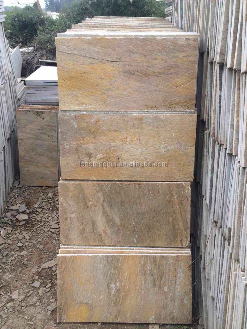 30x60 natural surface finish external natural slate stone tile wall