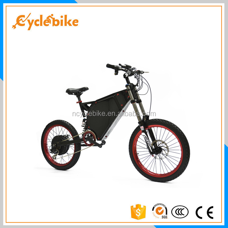 Long range 72V 5000w Enduro Ebike with panasonic brand