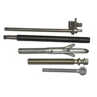 Acme Square And Nut Black Threaded Rod