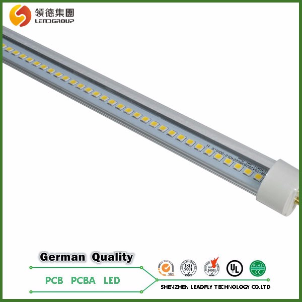 1.5m printed circuit board high power led pcb board uv light tube led t8 tube 9.5w pcb,PCBA>200lm/w