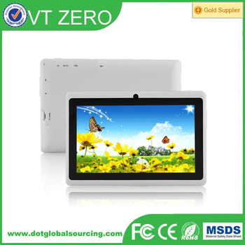 7 inch Q8 A33 Dual Core Tablet 512MB/4GB or 8GB Android Tablet PC camera WIFI