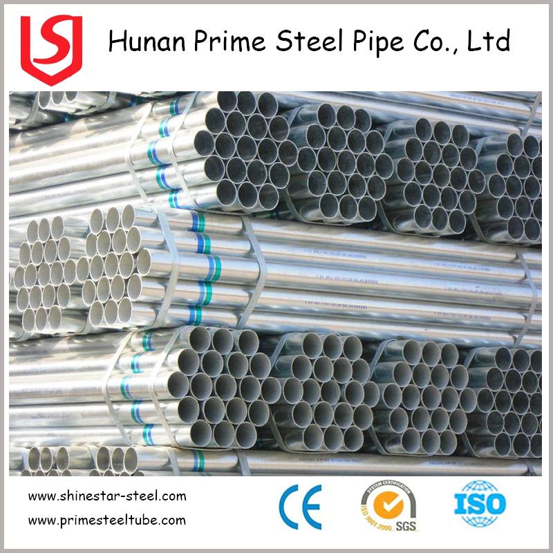 galvanized pipe for structure