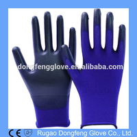 18 Gauge Ultra Light Nylon PU Coated Precision Work Palm Fit PU Gloves