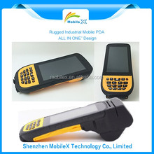 IP65 PDA With IrDA Communication Fingerprint Printer Travel Document Reader Barcode Scanner (MX4300)