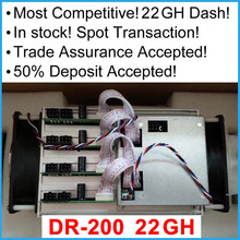 In Stock 2017 Newest DR100 Miner 22Gh/s Dashminer x11 DR-100 miner Dashcoin Trade Assurance Accepted and Deposit Accepted