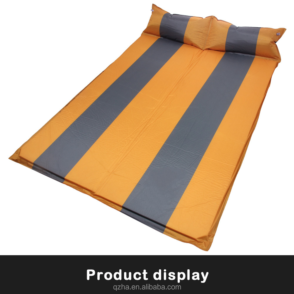 wholesale slef inflating mat/outdoor camping thick automatic inflatable