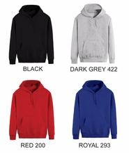 China Good Price THERMAL HOODIE- 320gsm 80% Cotton 20% Polyester fleece Adult/Men's Custom Hoodie Printing Apparel
