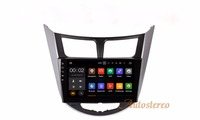 Android7.1 Quad Core Car DVD Player GPS Navigation for Hyundai Accent Verna 2011+Auto Radio GPS Multimedia System Radio Player