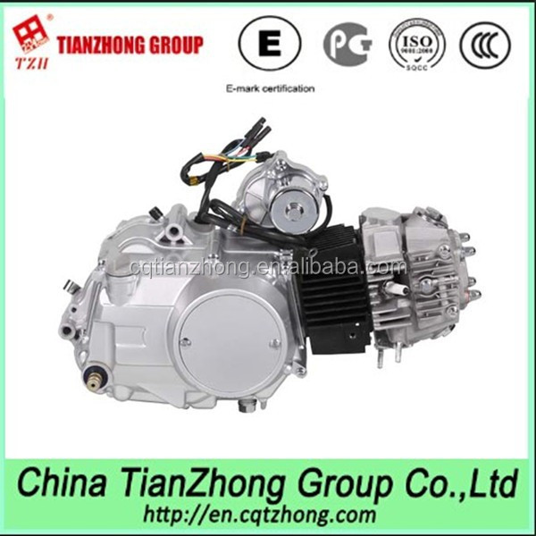 Semi-Automatic Motorcycle Engine with 3+1 Reverse Gear for ATV,scooter,moped
