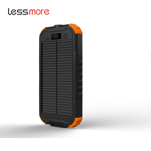 shenzhen business 2017 solar portable power bank 12000mah dual usb solar panel rohs solar charger