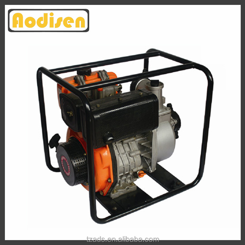 farm irrigation movable portable diesel engine water pump set