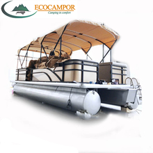 luxury ocean sailing aluminum pontoons for pontoon boat