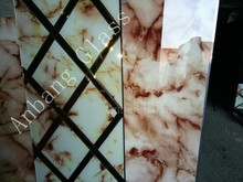 marble <strong>glass</strong>, decorative art <strong>glass</strong> for background wall/ kitchen cabinets decoration