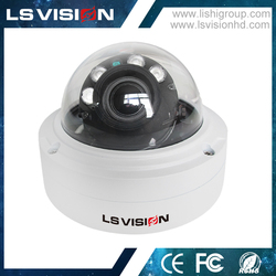 LS VISION auto zooming dome camera cctv installation manufacturer