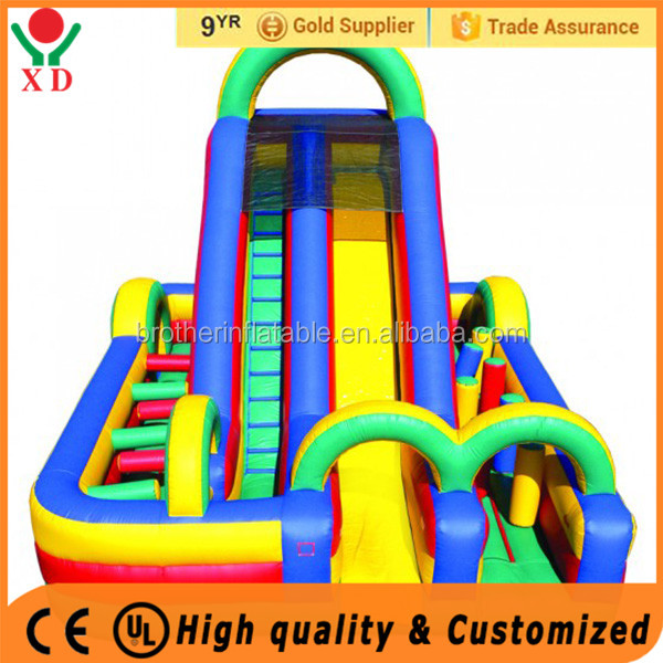 Manufacture offer security slides inflatable water slide rental business for sale
