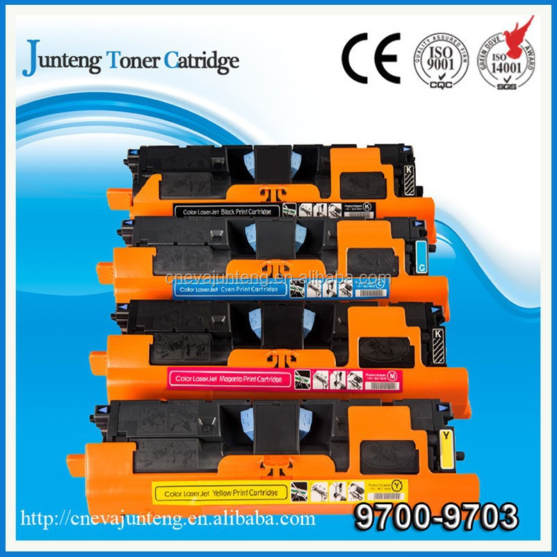 Made in China color toner cartridge of 9700 9701 9702 9703 for Color Laser Jet 1500/2500 from Zhuhai