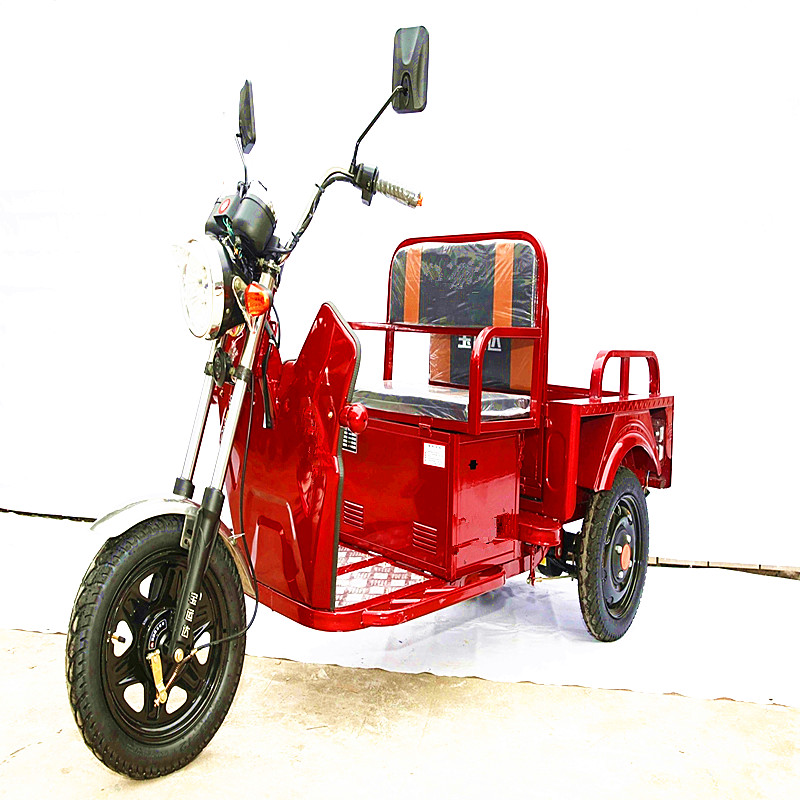 China cheap battery tricycle motor 48V 650W cargo passenger electric vehicle
