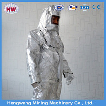 fire retardant suit/aluminized fire suit/fire resistant suit