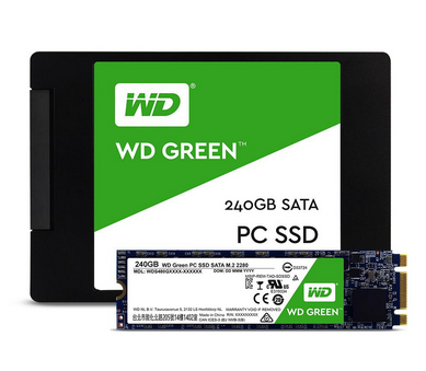 For most desktop and laptop PCs Green PC SSD 120GB 240GB SSD