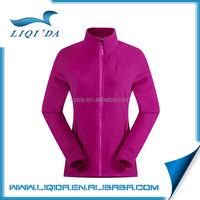 Competitive price winter 100% polyester wool women polar fleece jacket