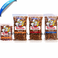 High Quality Food Grade Nuts Snack Heat Sealing Pack Bag