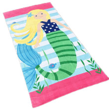 Custom printed 100% cotton towel beach kids