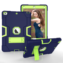 Best Selling Hybrid Armor Rugged Tablet Cover for iPad Pro 9.7 Case