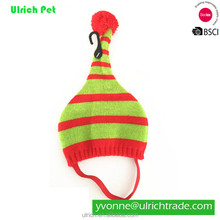 PH1604 fashion knitted colorful striped dog hats