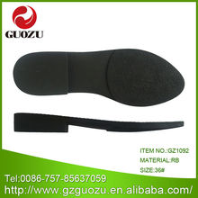 thin rubber Leather shoe soles for shoe making