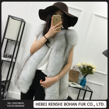 Top Quality Fashion Design Genuine Fox Fur Gilet
