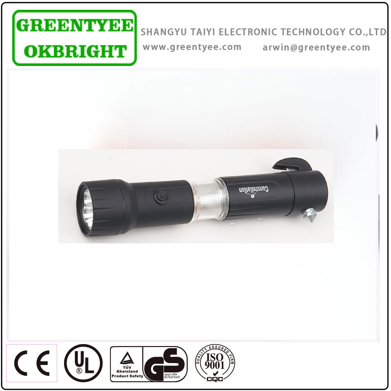 rechargeable powerful hunting creee led focus flashlight torch