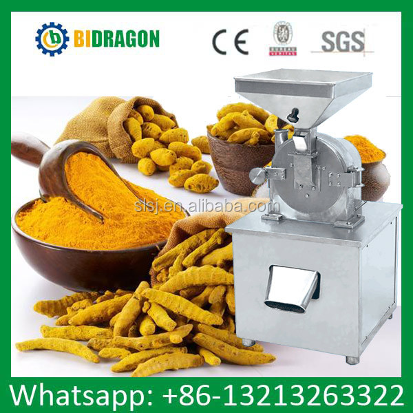 150-200kg/hr Turmeric Powder Mill and Spice Powder Milling Machine 304