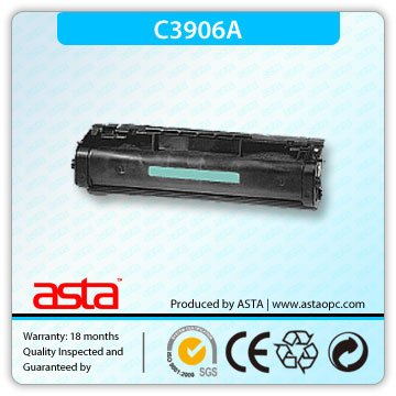 ASTA High Quality Compatible Toner Cartridge C3906A for H.P 5L/6L