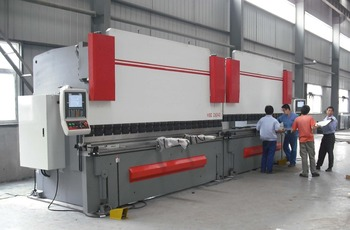 AOXUAN brand 3+1 axis 1600T hydraulic cnc double linked press brake