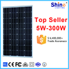 5W to 300W PV solar panel manufacturer wholesale