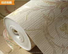 Detai heavy embossed vinyl wallpaper for interior design