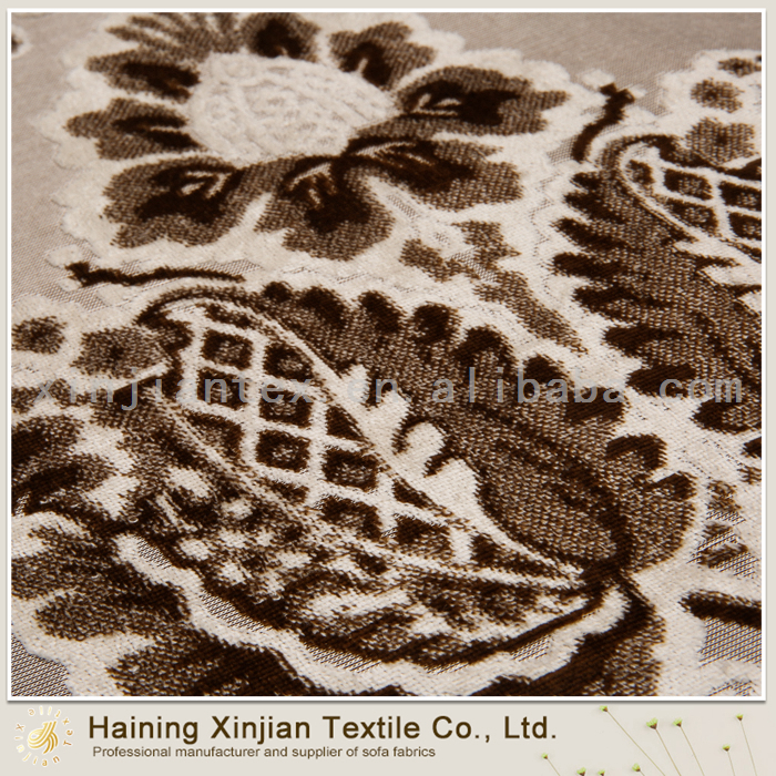 high quality and beautiful upholstery fabrics for sofa/ velvet printing fabric for furniture/home textile for curtain