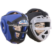 Karate Head Guard With Face Cage